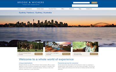 Bridge & Wickers / The Ultimate Travel Company